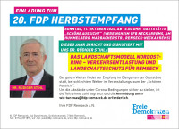 20. Herbstempfang FDP Remseck